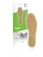 Гигиенические стельки для обуви Kaps Eco  из кокосового волокна , фото 1
