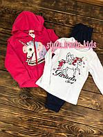 Спортивный костюм(тройка)для девочки, фото 1