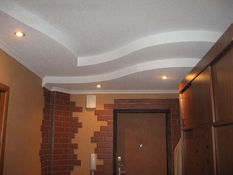 Монтаж потолка из гипсокартона. Комплексные работы.