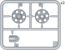 Набор катков для танка Т-34. 1943-44 гг. выпусков.1/35 MINIART 35242, фото 3