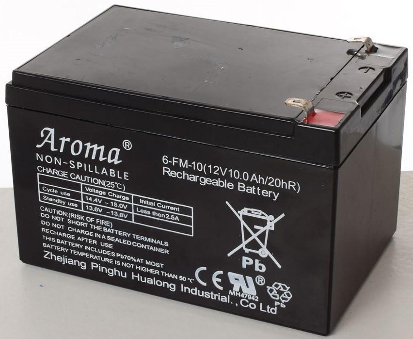 Аккумуляторная батарея 6-FM-10 12V/10AH/20HR