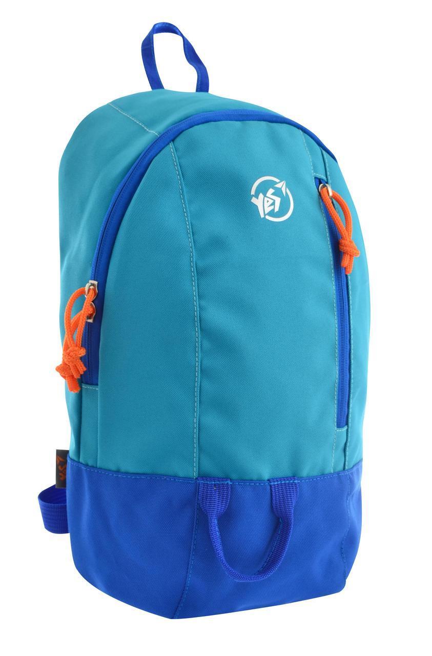 Рюкзак спортивный YES 557169 VR-01 голубой