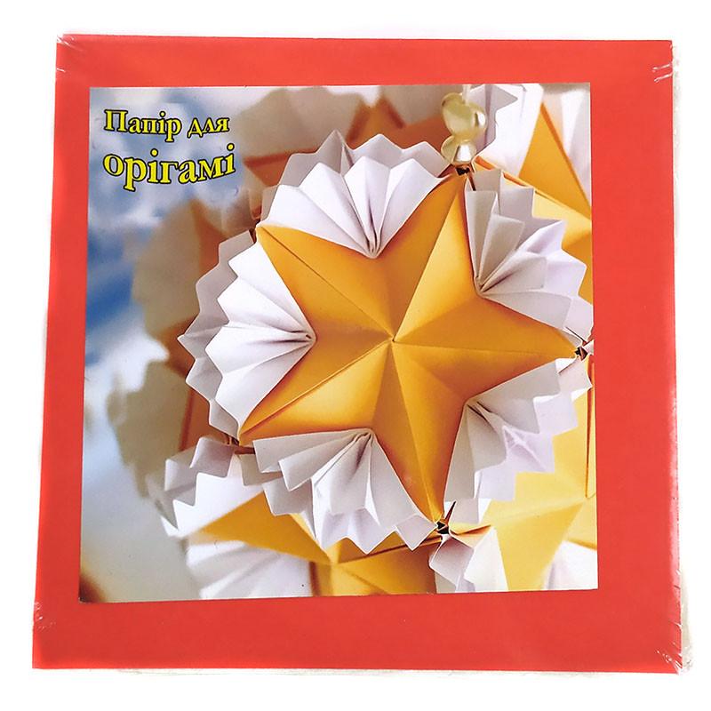 Бумага для оригами Аляска 100*100 мм 10 цветов 100 листов