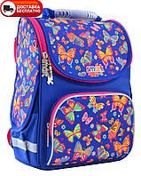 Портфель школьный для девочки каркасный SMART 555908  PG-11 Butterfly dance