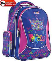 Портфель школьный для девочки SMART 556809 ZZ-02 Cool Princess, фото 1