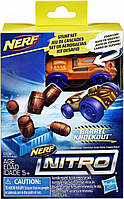 Игровой набор Hasbro Nerf Nitro Препятствие и машинка (E0153_E2538), фото 1