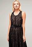 2255 платье Риана, черный (S), фото 3