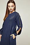 2262 платье Сеул, синий блеск (44), фото 4