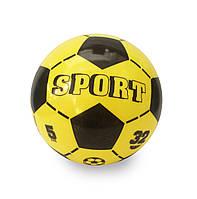 """Мяч Unice """"Спорт футбол"""" желтый (1500-2)"""