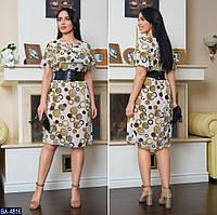 Стильное платье    (размеры 48-62)  0179-80, фото 1