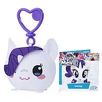 Мягкая игрушка Hasbro My Little Pony плюшевый брелок Рарити Clip (E0030_E0428)