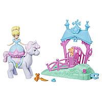 Игровой набор Hasbro Disney Princess мини кукла Золушка и пони (E0072_E0249)