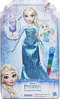 Игровой набор Hasbro Disney Frozen Яркий наряд Эльзы (B6162_B6163), фото 1