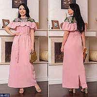 Стильное платье    (размеры 48-62)  0179-84, фото 1