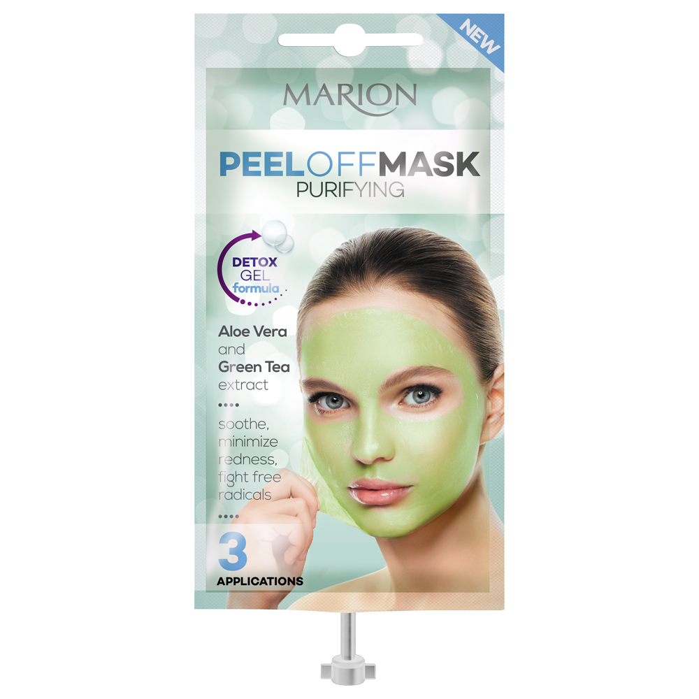 Очищаюча маска-плівка для обличчя Marion Peel Off Mask Purifying 18 мл (4109031)