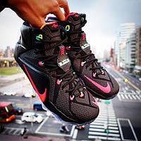 """Баскетбольные кроссовки Nike LeBron 12 """"Data"""", фото 1"""