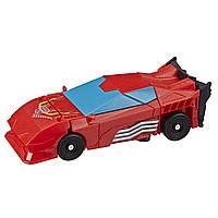 Трансформер Hasbro Transformers Кибервселенная 1 шаг Хот Род (E3522_E3644), фото 1