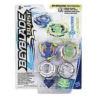 Игровой набор Hasbro Bey Blade Valtryek Валтрек и Unicrest Уникрест 2 Волчка (B9491_B9492)