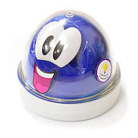 Пластилин Genio Kids-Art для лепки Smart Gum светится в темноте синий (HG03-2), фото 1