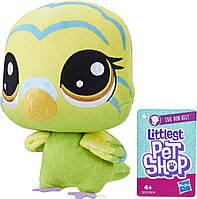 Мягкая игрушка Hasbro Littlest Pet Shop плюшевый зверек Edie Von Keet (E0139_E0351), фото 1