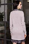2284 платье Анжело, пудра (S), фото 2