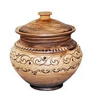 Горшок для запекания Покутская Керамика Шляхтянская 750мл