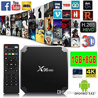 Смарт ТВ приставка SmartTV X96 Mini 1gb/8gb Андроид Android TV box