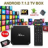Смарт ТВ приставка SmartTV X96 Mini 1gb/8gb Андроид Android TV box, фото 4