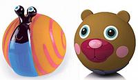 """Набор игрушек резиновых """"Улитка+Медвежонок"""""""