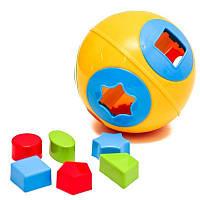 Игрушка-шар Technok «Умный малыш» желтый (2247-1)