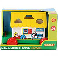 Игра Polesie игровой дом в коробке желтый (6028-2)