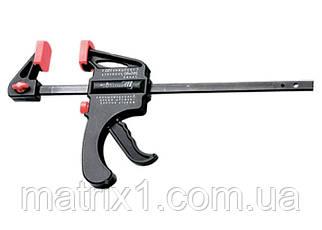 Струбцина универсальная F-образная, 200 х 315 х 45 мм, пластмассовый корпус// MTX