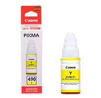 Чернила Canon GI-490 PIXMA G1400/G2400/G3400 Yellow 70ml