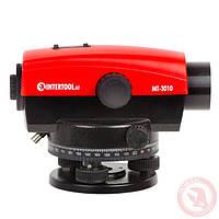 Оптический нивелир 20-кратное увеличение INTERTOOL MT-3010, фото 1