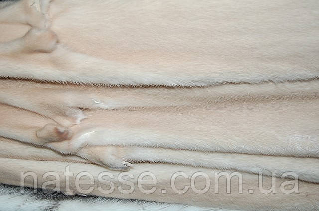 Хутро шкурки норки Данія (вироблені) Паломіно Самці 68-72 см