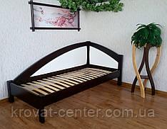 """Односпальная кровать с мягкой вставкой """"Радуга Премиум"""""""