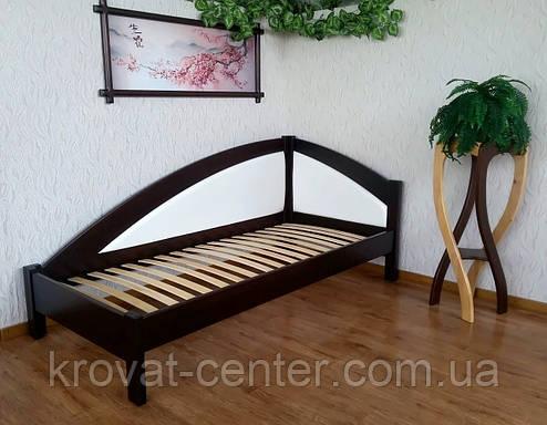"""Односпальная кровать с мягкой спинкой """"Радуга Премиум"""" от производителя, фото 2"""