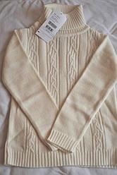 Вязаный свитер  для девочки  (нежно-кремовый), Girandola, размер 140