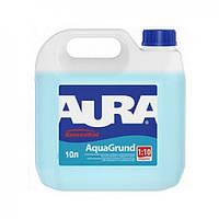 Грунт-концентрат влагозащитный (1:10) Aura Koncentrat Aquagrund, 10 л