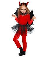 Детский карнавальный костюм Чертенок - девочка