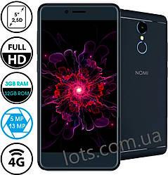 Смартфон Nomi i5050Evo Z 3/32Gb Black 4G