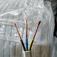 Кабель для электропроводки ШВВП 3Х2.5 ЗЗЦМ купить в Украине,в Харькове,на рынке Барабашово