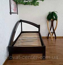 """Подростковая деревянная кровать с мягкой спинкой """"Радуга Премиум"""" от производителя, фото 3"""