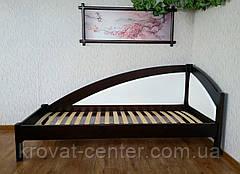 """Детская подростковая кровать тахта с мягкой спинкой из дерева """"Радуга Премиум"""" от производителя, фото 3"""