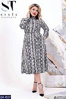 Стильное платье    (размеры 48-54)  0180-09, фото 1