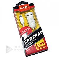 Автомобильное зарядное устройство+ micro USB кабель DL-C 12, зарядка автомобильная для телефона