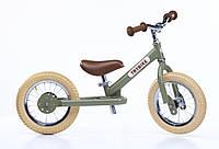 Детский велобег расцветки в ассортименте  (белоговел, балансир) ТМ Trybike TBS-2-GRN-VIN (6167)