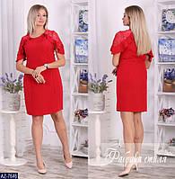 Стильное платье    (размеры 48-54)  0180-11, фото 1