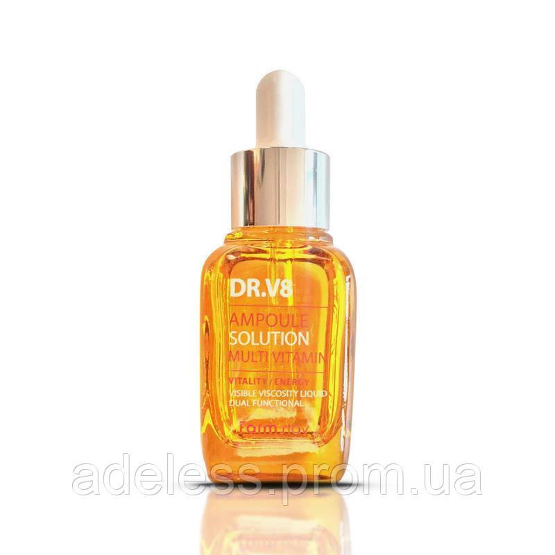 Мультивитаминная сыворотка Farm Stay DR.V8 Ampoule Solution Multi Vitamin, 30 мл
