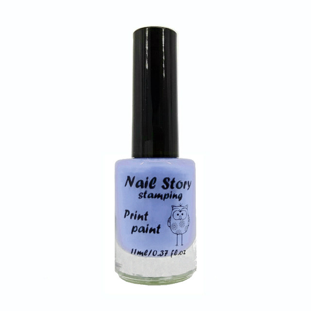 Лак для стемпинга Nail Story №1 (небесно-голубой)